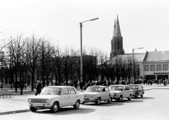 Mašinos A. Baranausko aikštėje