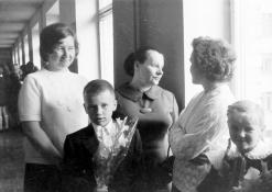 Mamos ir vaikai Rugsėjo-1-ąją