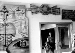 Poilsio namų foje dekoracijos