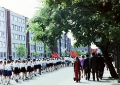 Vasaros šventė - eisena per miestą
