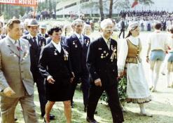 Vasaros šventė - karo veteranai