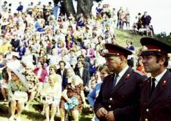 Vasaros šventė - milicininkai