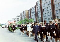 Vasaros šventė - mokinių eisena