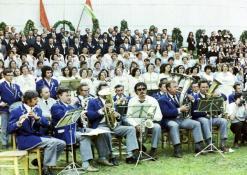 Vasaros šventė - orkestras ir choras
