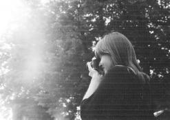 Simona Gudaitė fotografuoja
