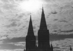 Anykščių Šv. Mato bažnyčios bokštai