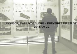 2016 09 22 - Dainuvos slėnis: kūrybinių dirbtuvių startas