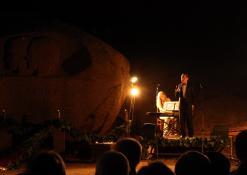 """2011 07 16 - Atminties valanda prie Puntuko akmens """"Vieno kelio tiesa"""""""