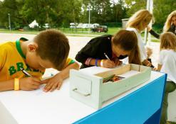 Vaikiški palinkėjimai tetralizuotos ekskursijos organizatoriams
