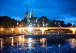 Miesto šventė naktiniuose Anykščiuose