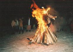 Užgavėnių šventė Naujųjų Elmininkų bendruomenėje