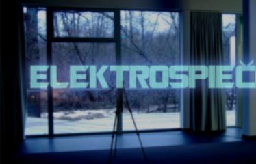 """Elektroninės muzikos koncertas """"ELEKTROSPIEČIUS"""" - Plakatas"""