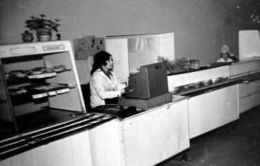 """Fotokonkursas """"Anykščiai ir apylinkės"""" (1977) - Valgykla"""