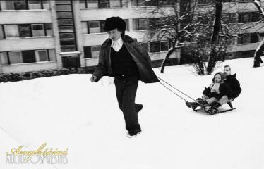 """Fotokonkursas """"Anykščiai ir apylinkės"""" (1980) - Naujieji Elmininkai"""