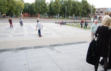 """Fotokonkursas """"Anykščiai ir apylinkės"""" (2014) - Miesto centras"""