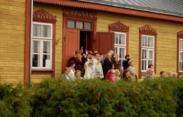 """Fotokonkursas """"Anykščiai ir apylinkės"""" (2006) - Siaurojo geležinkelio stotis"""