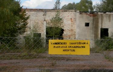 """Fotokonkursas """"Anykščiai ir apylinkės"""" (2007) - Apleistas plytų fabrikas Rubikiuose"""
