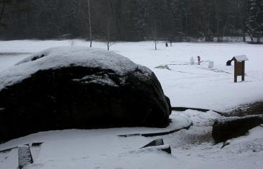 """Fotokonkursas """"Anykščiai ir apylinkės"""" (2008) - Puntuko akmuo"""