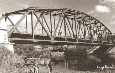 """Fotokonkursas """"Anykščiai ir apylinkės"""" (1930) - Tiltas"""