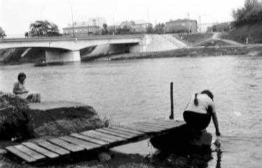 """Fotokonkursas """"Anykščiai ir apylinkės"""" (1977) - Šventoji"""