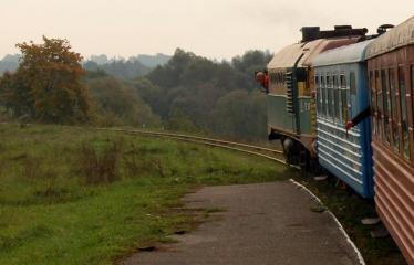 """Fotokonkursas """"Anykščiai ir apylinkės"""" (2006) - Siaurasis geležinkelis"""