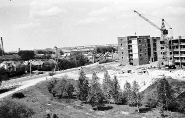 """Fotokonkursas """"Anykščiai ir apylinkės"""" (1977) - Ramybės mikrorajonas"""