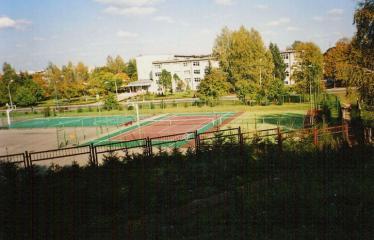 """Fotokonkursas """"Anykščiai ir apylinkės"""" (2007) - Stadionas"""