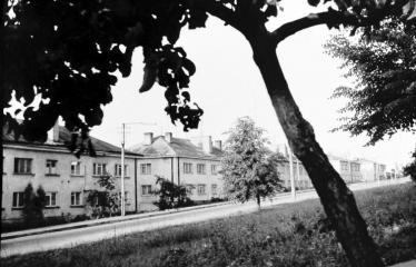 """Fotokonkursas """"Anykščiai ir apylinkės"""" (1976) - Namai"""