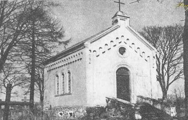 """Fotokonkursas """"Anykščiai ir apylinkės"""" (1959) - Antano Vienuolio """"Vėžyje"""" aprašytoji koplytėlė (senosiose kapinėse)"""