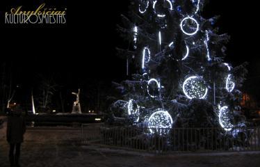 """Fotokonkursas """"Anykščiai ir apylinkės"""" (2013) - Kalėdų eglė"""