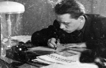 """Fotokonkursas """"Anykščiai ir apylinkės"""" (1954) - Darbas"""