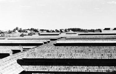 """Fotokonkursas """"Anykščiai ir apylinkės"""" (1957) - Pastatų stogai"""