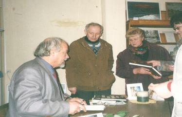 2002 10 18 - Susitikimas su rašytoju Rimantu Vanagu
