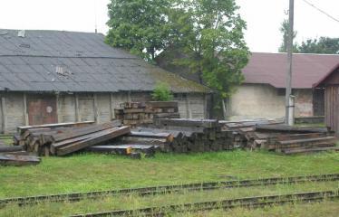 """Fotokonkursas """"Anykščiai ir apylinkės"""" (2009) - Siaurojo geležinkelio stotis"""