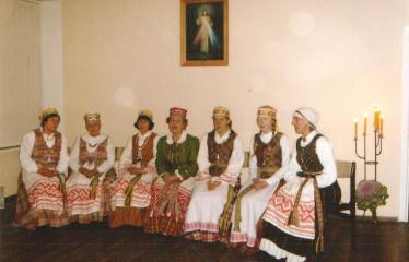 """Fotokonkursas """"Anykščiai ir apylinkės"""" (2009) - Advento rimtis Naujųjų Elmininkų kaimo bendruomenėje"""