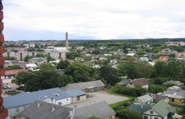 Anykščių miesto šventė (2012) - Trečioji diena - Vaizdas iš bažnyčios bokšto