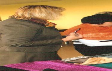 N. Elmininkų kaimo bendruomenės adventinė popietė - Šventės akimirka