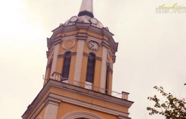 """Fotokonkursas """"Anykščiai ir apylinkės"""" (2015) - Kavarsko bažnyčios bokštas"""