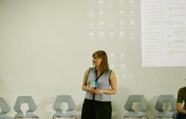 Jaunųjų kūrėjų dienos - Susitikimai su menininkais dirbančiais medijų srityje - Projekto sumanytoja ir kuratorė Simona Gudaitė