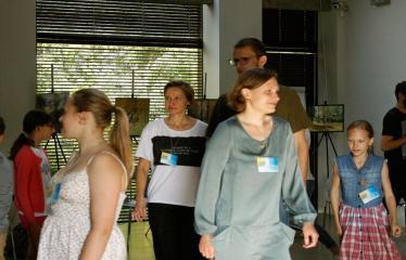 Jaunųjų kūrėjų dienos - Susitikimai su menininkais dirbančiais medijų srityje - Projekto dalyviai