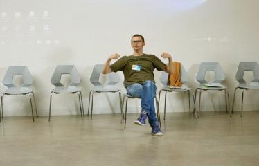 Jaunųjų kūrėjų dienos - Susitikimai su menininkais dirbančiais medijų srityje - Dizaineris Jonas Liugaila
