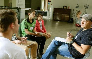 Jaunųjų kūrėjų dienos - Susitikimai su menininkais dirbančiais medijų srityje - Dizaineris Andrius Čiukšys