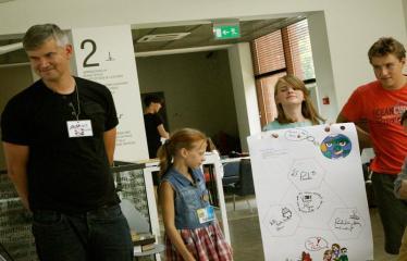 Jaunųjų kūrėjų dienos - Susitikimai su menininkais dirbančiais medijų srityje - Idėjos pristatymas