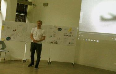 Jaunųjų kūrėjų dienos - Susitikimai su menininkais dirbančiais medijų srityje - Aktorius, trumpametražinų filmukų kūrėjas Rytis Saladžius