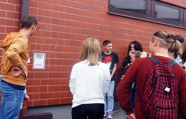 Jaunųjų kūrėjų dienos - Susitikimai su menininkais dirbančiais medijų srityje - Projekto akimirka