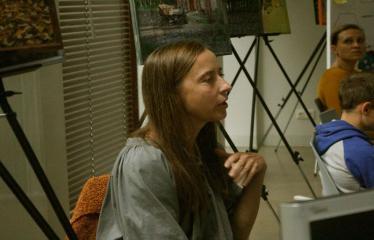 Jaunųjų kūrėjų dienos - Susitikimai su menininkais dirbančiais medijų srityje - Menininkė Aurelija Maknytė