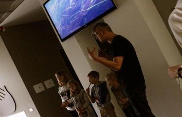 Jaunųjų kūrėjų dienos - Susitikimai su menininkais dirbančiais medijų srityje - Andrius Falkauskas pristato savo projetą