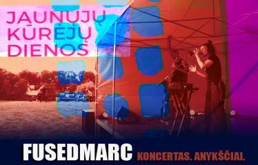 2016 08 31 - Jaunųjų kūrėjų dienos - Vasaros palydėtuvės su grupe FUSEDMARC