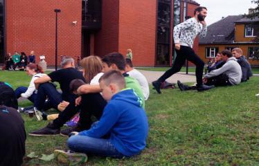 Jaunųjų kūrėjų dienos - Vasaros palydėtuvės su grupe FUSEDMARC - Projekto dalyviai
