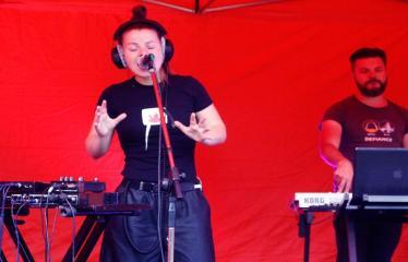 """Jaunųjų kūrėjų dienos - Vasaros palydėtuvės su grupe FUSEDMARC - Koncertuoja grupė  """"Fusedmarc"""""""